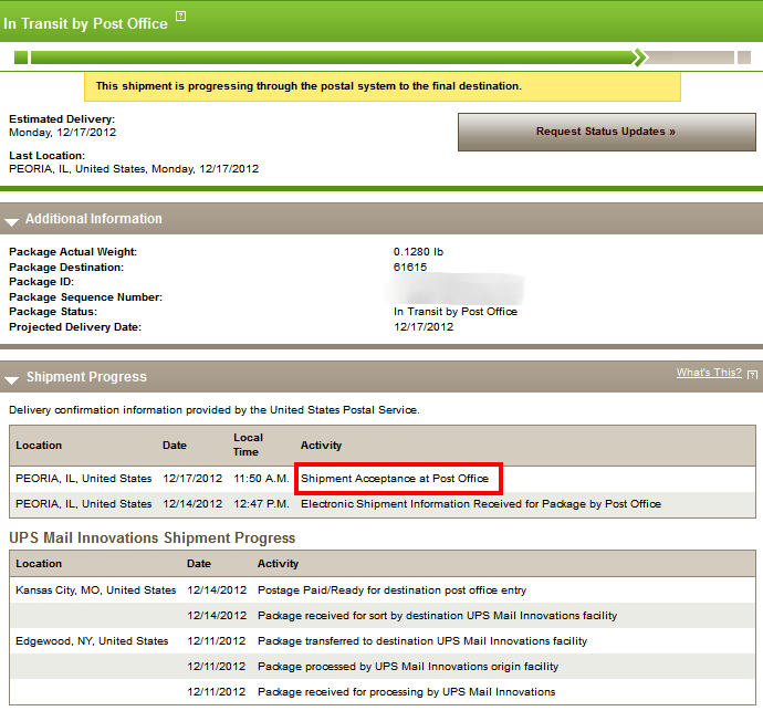 Probably the most confusing package status ever.