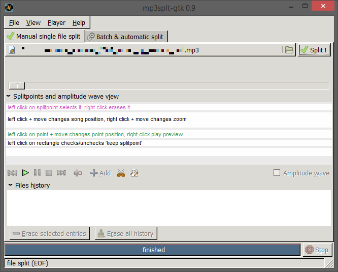 The new king of CUE splitting on Windows. Or, if you prefer, the absolute UI disaster that is GTK.