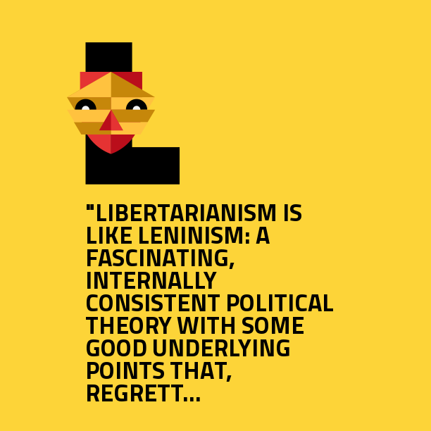 The best description of Libertarianism I've ever read
