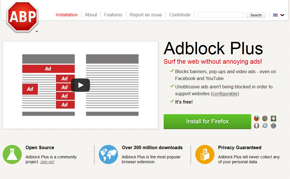 The best way to block ads: AdBlock Plus vs. a custom hosts file(HostsMan)