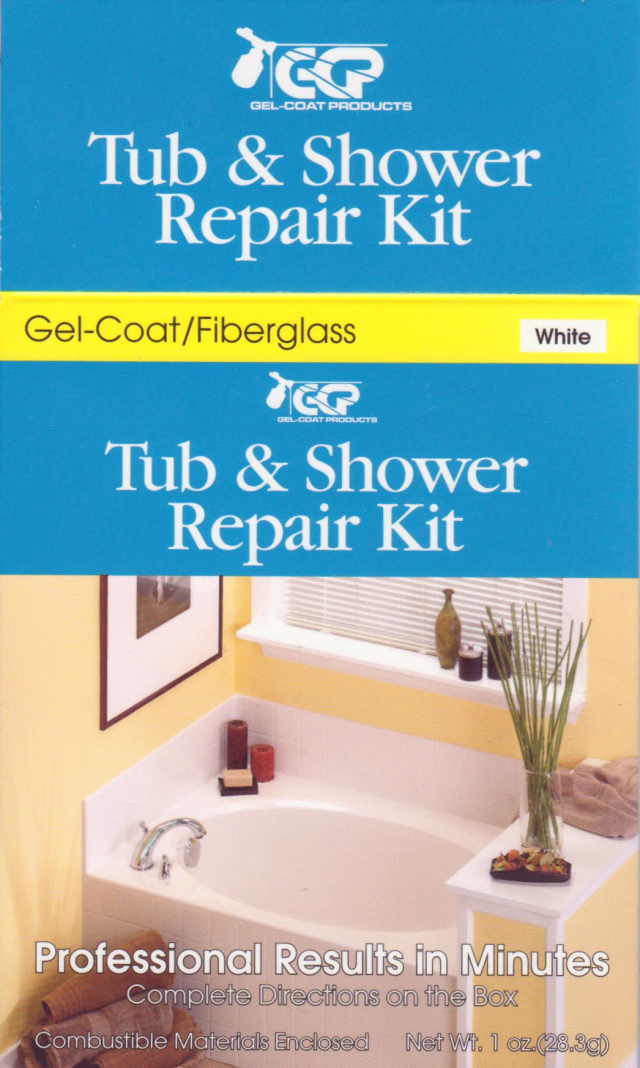 Gel-Coat Products Tub & Shower Repair Kit review