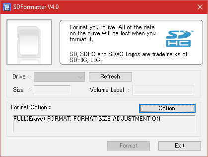 sd card formatter download pc